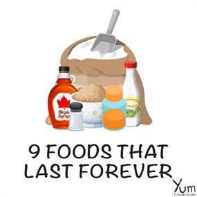 9 Foods that Last Forever