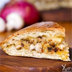 Chicken Cheese & Mushroom Damper