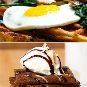 2 Ways Waffle