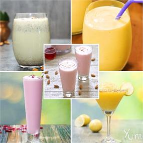 Quench your thirst with these refreshing summer drinks! 🌞