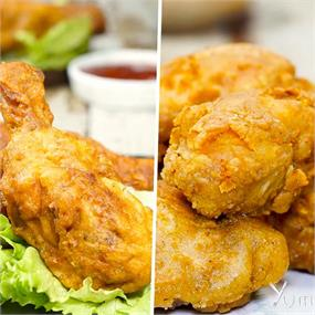 2 Ways Fried Chicken