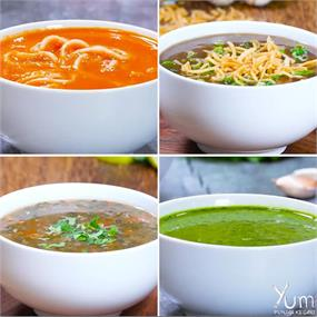 4 Soup Recipes To Keep You Warm And Cozy.