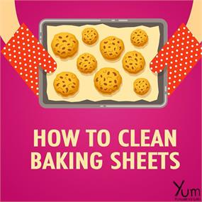 How to Clean Baking Sheets