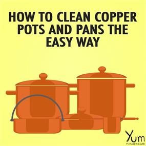 How to Clean Copper Pots and Pans the Easy Way