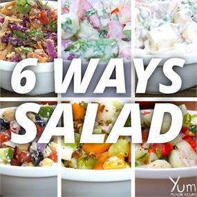 6 Ways Salad