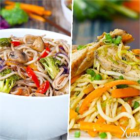 2 Ways Chow Mein