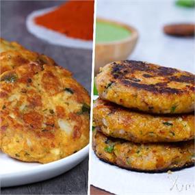 2 Ways Paneer Kebab