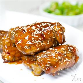 Firecracker Chicken Thighs