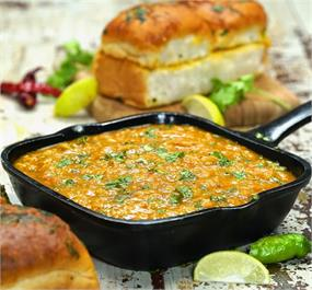 No Onion No Garlic Pav Bhaji