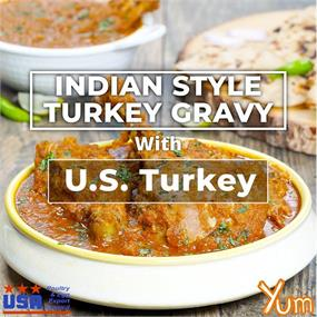 Indian Style Turkey Gravy