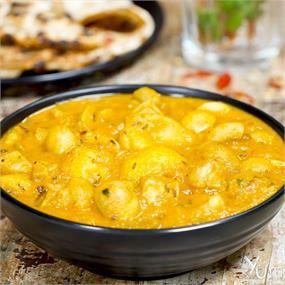 Aloo Mushroom Curry