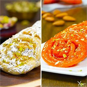 Make these sweet & delicious jalebis at home.