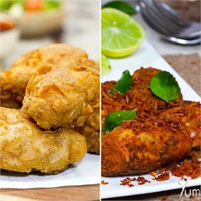 Yummy & Tasty Fried Chicken Recipes.🍗😋