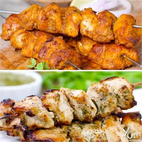 Make the best delicious, soft, succulent & flavourful chicken kebabs at home.