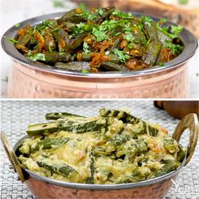 Easy To Make Bhindi Recipes.