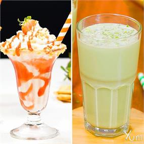 Try our delicious milkshake recipes at home.😍