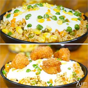 Make These McDonald's Style Cheesy Rice Bowl Recipes At Home!🤤😍