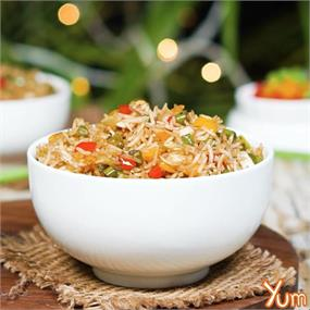 Vegetable Fried Rice Jain Style